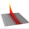 Topologically protected interface mode in plasmonic waveguide arrays